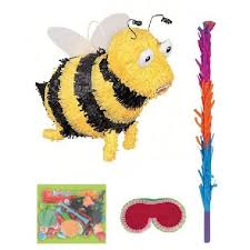 Pinata abeille avec ces accessoires