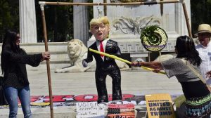 Pinata Trump au mexique